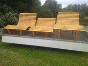 Relaxbank Sinnesbank Sonnenliege Wellenbank Waldsofa
