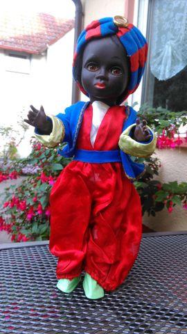 Puppen - Sarotti-Mohr -Puppe