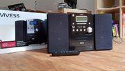 Vivess Stereoanlage Kompaktanlage für Kasetten