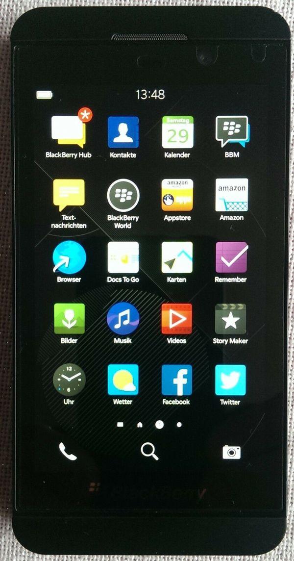BlackBerry Z10 16GB 32GB MicroSD