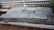 Quarzit Natursteinplatten Farbe grau