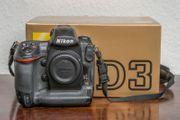 Nikon D3 Digitalkamera guter Zustand