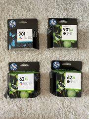 Original HP Druckerpatronen 901 und