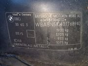 Schlachtest Bmw 330i Bj 2002
