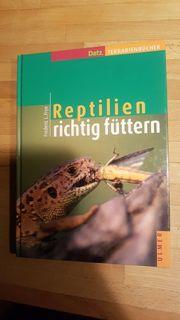 Buch Reptilien richtig Füttern