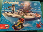 Playmobil Polizeiboot