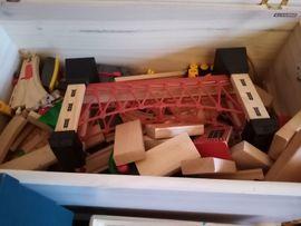 Holzspielzeug - Holzeisenbahn