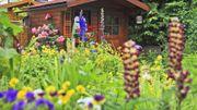 Gartenhaus Datsche Kleingarten Mobilehome Campingplatz