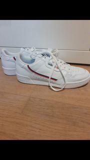 Adidas Continental 80 Turnschuhe weiß