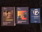 Fachbücher Maschinenbau 3 Stück