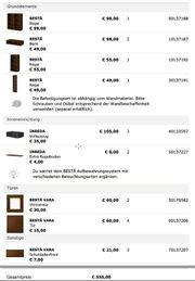 IKEA Besta nussbaum dunkel