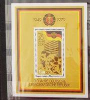 Briefmarken 30 Jahre DDR postfrisch