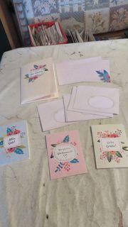 Glückwunschkarten zu verschenken