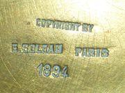 Joseph Chéret Jugendstil Bronze E