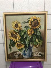 Sonnenblumen Bild Bilderrahmen Pfarrer Niklas