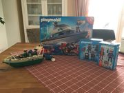 Playmobil Polizeiboot 4429 5181 4268