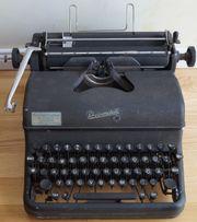 alte Schreibmaschine Rheinmetall