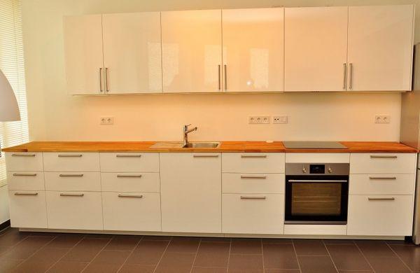 Moderne küche hochglanz weiß