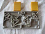 Zinngießform Metall für kulturhistorische Zinnfiguren