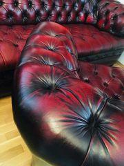 Chesterfield Leder Sofa 321 in