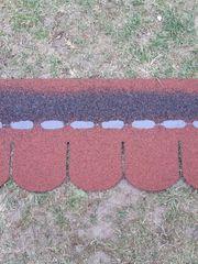 Suche Bitumen Dachschindeln Biberschwanz rot