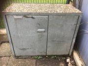 Wolff Mülltonnenbox Waschbeton für 2
