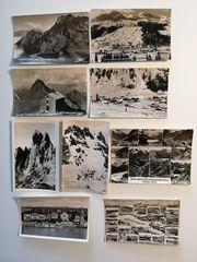 9 Stück alte Vorarlberger Postkarten