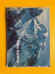 Rolex Explorer Booklet Heft 1976