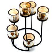 Kerzenhalter Kerzenständer aus Eisen - 6
