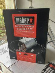 Weber Anzündkamin Rapidfire Anzünd-Set