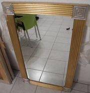 3 Spiegel Wandspiegel goldfarben mit