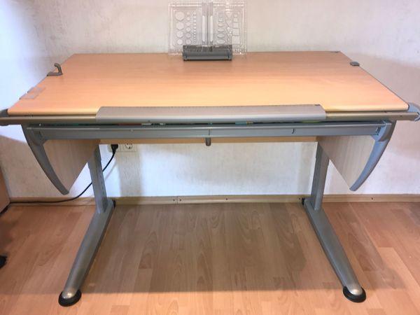 Schreibtisch Moll Modell Runner Höhenverstellbar In Riedstadt