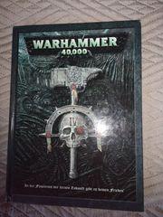 Warhammer 40 000 Buch Regelbuch