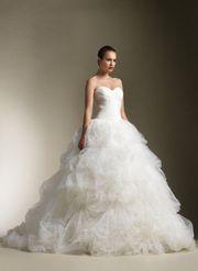 Hochzeitskleid von Designer Justin Alexander