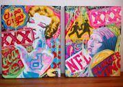 Pop Art Kunst Bild Original