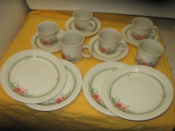 Keramik Kaffee Service 14 tlg