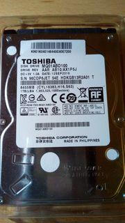 1 TB HDD 2 5