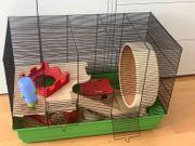 Hamsterkäfig mit viel Zubehör Kleintierkäfig