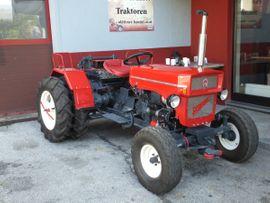 Traktoren, Landwirtschaftliche Fahrzeuge - Krasser U6V Seilwindentraktor