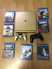 PS4 Gold Limited Edition
