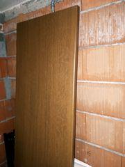 Küchenarbeitsplatte Farbe Nussbaum dunkel
