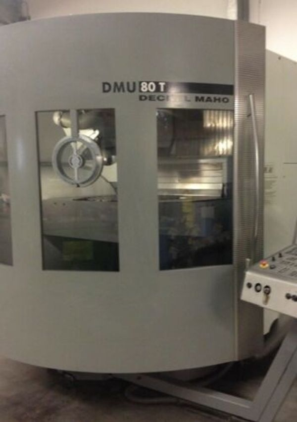 5-Achsen Bearbeitungszentrum - DECKEL MAHO
