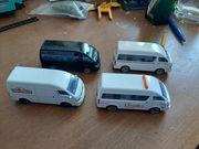 Verschiedene kleine Autos