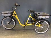NEU - E-Transportrad - Dreirad - Ausstellungsstück