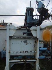 Abrollcontainer Krancontainer Hakenabroller HMF Kran