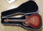 Gitarre Ovation mit Koffer