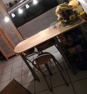 Küchenbartisch Thekentisch m Ablagefächern Weinfach