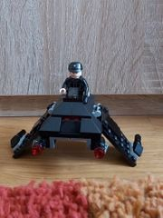 Lego Star Wars Raumschiff schwarz