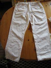 Altenpflege weiße Arbeitskleidung 2 Hosen