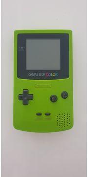 Game Boy Color grün